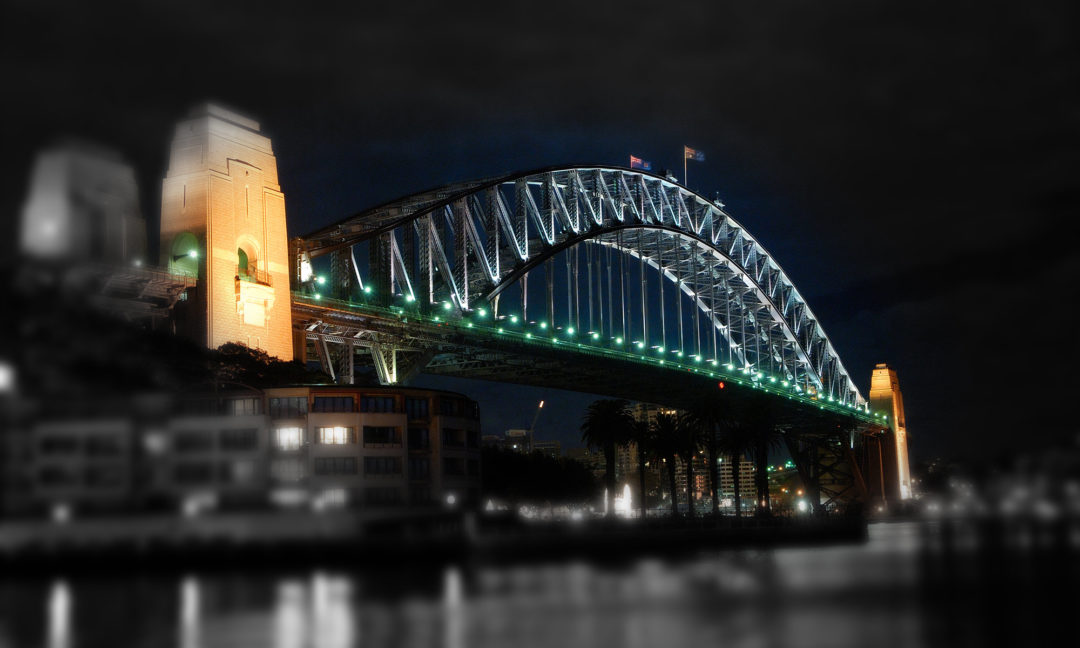 Media Design Sydney Harbour Bridge