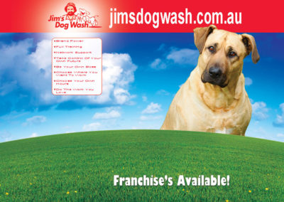 media design jim's dog wash