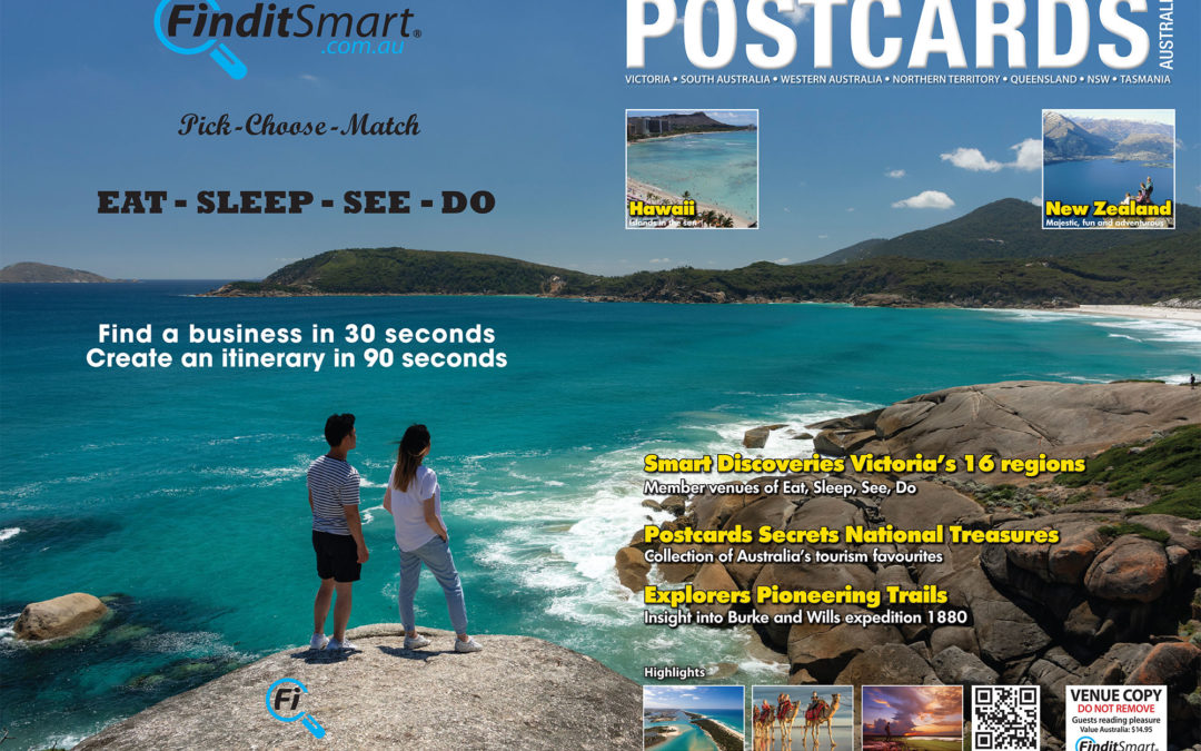 POSTCARDS magazine printed